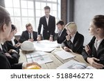 countruction business people... | Shutterstock . vector #518846272