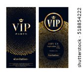 vip club party premium... | Shutterstock .eps vector #518854222