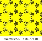abstract geometric wallpaper.... | Shutterstock .eps vector #518877118
