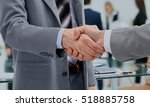 in a sign of cooperation  the... | Shutterstock . vector #518885758