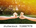 loans for real estate concept ... | Shutterstock . vector #518887978