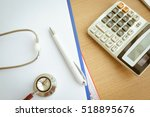 health care costs concept...   Shutterstock . vector #518895676