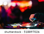 music background dj night club... | Shutterstock . vector #518897026