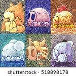 Original Watercolor Art  Card...
