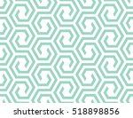 abstract geometric pattern with ... | Shutterstock .eps vector #518898856