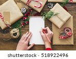 christmas letter writing on...