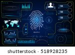 abstract hud ui interface cyber ...