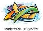 graffiti   Shutterstock .eps vector #518929792