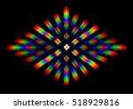 photo of the diffraction... | Shutterstock . vector #518929816