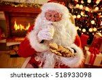 Real Santa Claus Enjoying In...