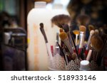 brushes makeup | Shutterstock . vector #518933146