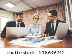 beautiful business people are...   Shutterstock . vector #518939242