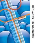 line background   Shutterstock .eps vector #51894058