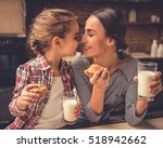 cute little girl and her...   Shutterstock . vector #518942662