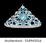 illustration crown tiara women... | Shutterstock .eps vector #518943316