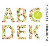 vegetables vector illustration   Shutterstock .eps vector #518947342