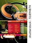 website template | Shutterstock .eps vector #51894874