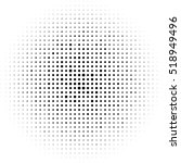 halftone circles  halftone dot... | Shutterstock .eps vector #518949496