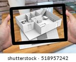 augmented reality marketing... | Shutterstock . vector #518957242