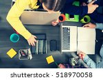 startup business people group...   Shutterstock . vector #518970058