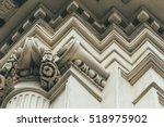 classic architecture. exterior... | Shutterstock . vector #518975902
