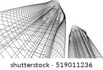 architectural drawing | Shutterstock .eps vector #519011236