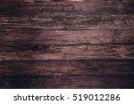 dark wooden texture. wood brown ... | Shutterstock . vector #519012286