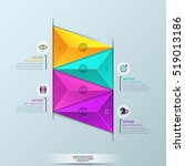 infographic design template ... | Shutterstock .eps vector #519013186