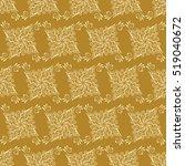 islamic pattern. indian  arabic ... | Shutterstock .eps vector #519040672