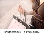 Pregnant Woman Shopping With A...