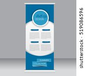 roll up banner stand template.... | Shutterstock .eps vector #519086596