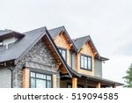 the top of the house or... | Shutterstock . vector #519094585