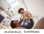 cheerful young boy having fun... | Shutterstock . vector #519098482