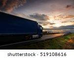 truck on the road | Shutterstock . vector #519108616