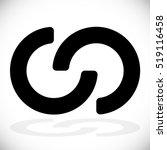 interlocking circles ... | Shutterstock .eps vector #519116458