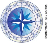 Wind Rose With The Orientation...