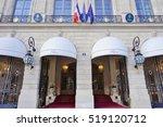 paris  france  5 nov 2016 ... | Shutterstock . vector #519120712