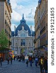 rennes  france   may 7  2012 ... | Shutterstock . vector #519121855