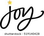 joy | Shutterstock .eps vector #519140428