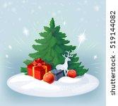 vector illustration on the... | Shutterstock .eps vector #519144082