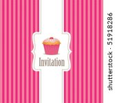 Cupcake Invitation Background 01