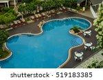 residential inground swimming... | Shutterstock . vector #519183385