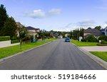 australian suburban street with ... | Shutterstock . vector #519184666