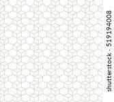 hexagonal grid design vector... | Shutterstock .eps vector #519194008