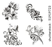 floral ornament  element for... | Shutterstock .eps vector #51919723