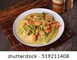 malaysian prawn in spicy... | Shutterstock . vector #519211408