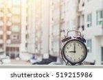 9 O'clock Retro Clock With The...