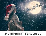 merry christmas and happy... | Shutterstock . vector #519218686