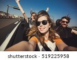 happy group of friends taking... | Shutterstock . vector #519225958