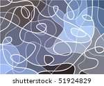 abstract geometric mosaic... | Shutterstock .eps vector #51924829